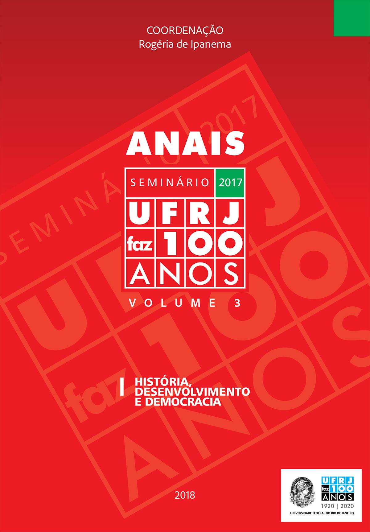Anais UFRJ faz 100 anos vol.3